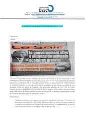 revue de la presse du lundi 28 septembre au 2 octobre 2020 pdf