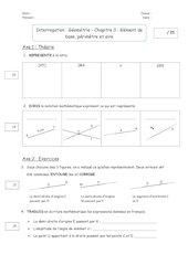 interro geometriechap 0
