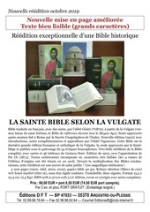 bible vulgate crampon et missel tract a4 2019
