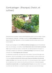 guide carre potager