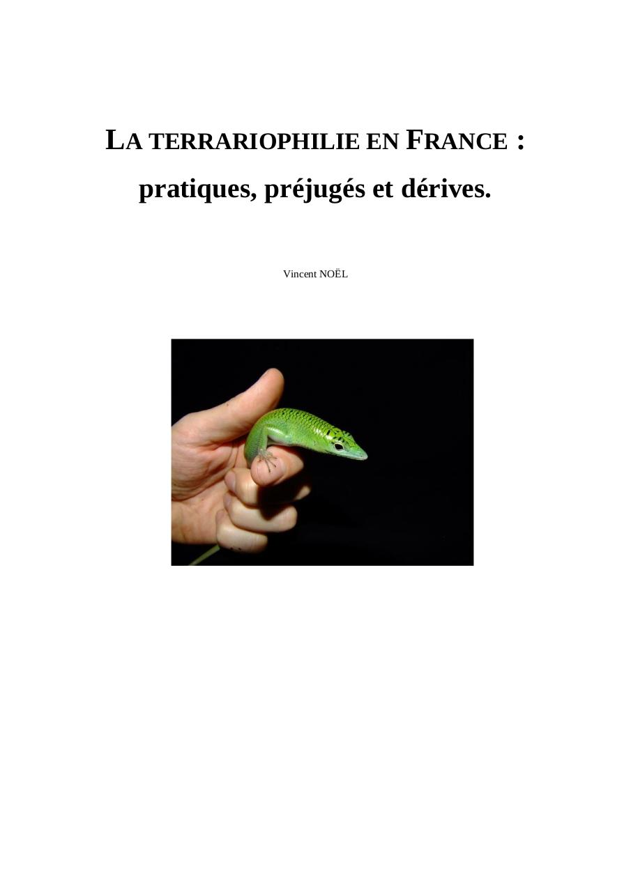 Aperçu du document terrariophilie-france.pdf - page 1/99