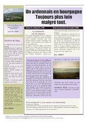 un ardennais en bourgogne journal mensuel octobre 2020