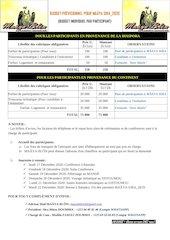 budget individuel participantms 2020