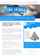 time to sell n5pdf pourquoi exploiter le langage corporel verbal