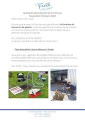 newsletter full services octobre 2020campagne sms
