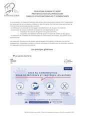 covdi19 pra protocole accueil ecoles   nov 2020