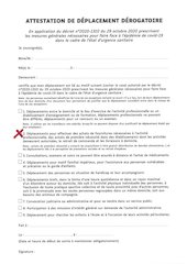 1 attestation de deplacement hiver 2020 vers concession qads et