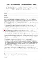 attestation de deplacement hiver 2020 vers concession qads et ss