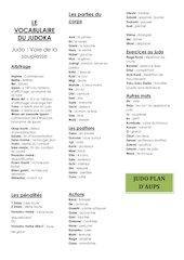 7 vocabulaire japonais plan