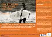 flyer surf cosmose et programme detaille 2
