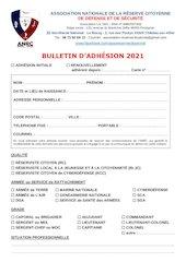 bulletion dadhesion 2021