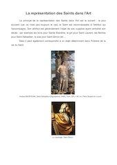 la representation des saints