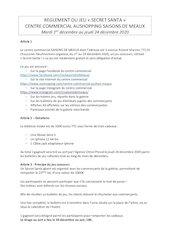 reglement de jeu physique secret santa   2020 sdm