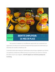 publication identite employeur et secrets  parcours candidat