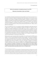 note jyl pour jldebre 12112020 elections consulaires 2021