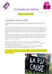 la gazette des sudistes flash infos heh 17 decembre 2020