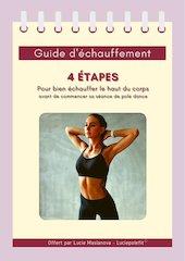guide dechauffement pole dance