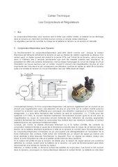 conjoncteur regulateur cahier technique