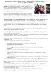 communique pour les 3 jeunes detenus dopinion en greve faim2