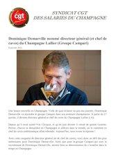 dominique demarville nomme directeur general du champagne lallie