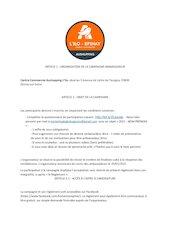 reglement ambassadeurs 1