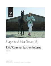 stage rh communication interne hf la ciotat 13600 horse pilot