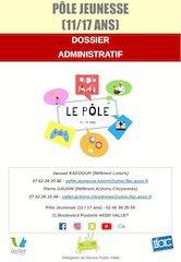 dossier administratif pole jeunesse 20202021