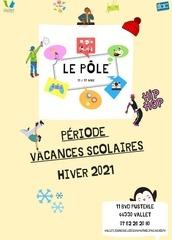 programme le pole vacances hiver 2021