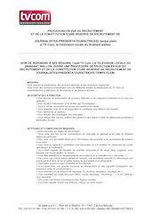 recrutement journaliste presentateurjanvier 2021