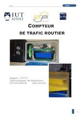 compteur trafic vehicule arduino vl53