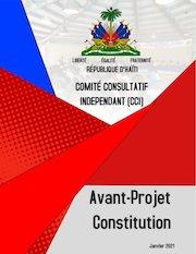 haiti avant projet constitution 2021