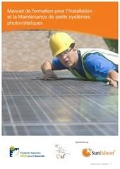 manuel pratique de petits systemes photovoltaiques
