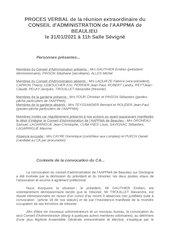 pv sans annexe reelection du  ca et bureau aappma 31janv 2021