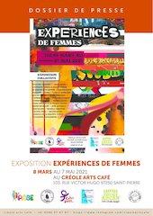 dossier de presse experiences de femmes pabe creole arts cafe
