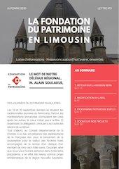 newsletter fdp limousin automne 2020