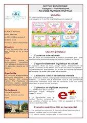 section europeenne espagnol