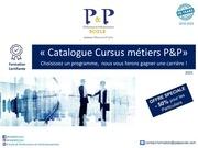 catalogue cursus 2021
