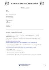 information pour demande de licence fslc sda