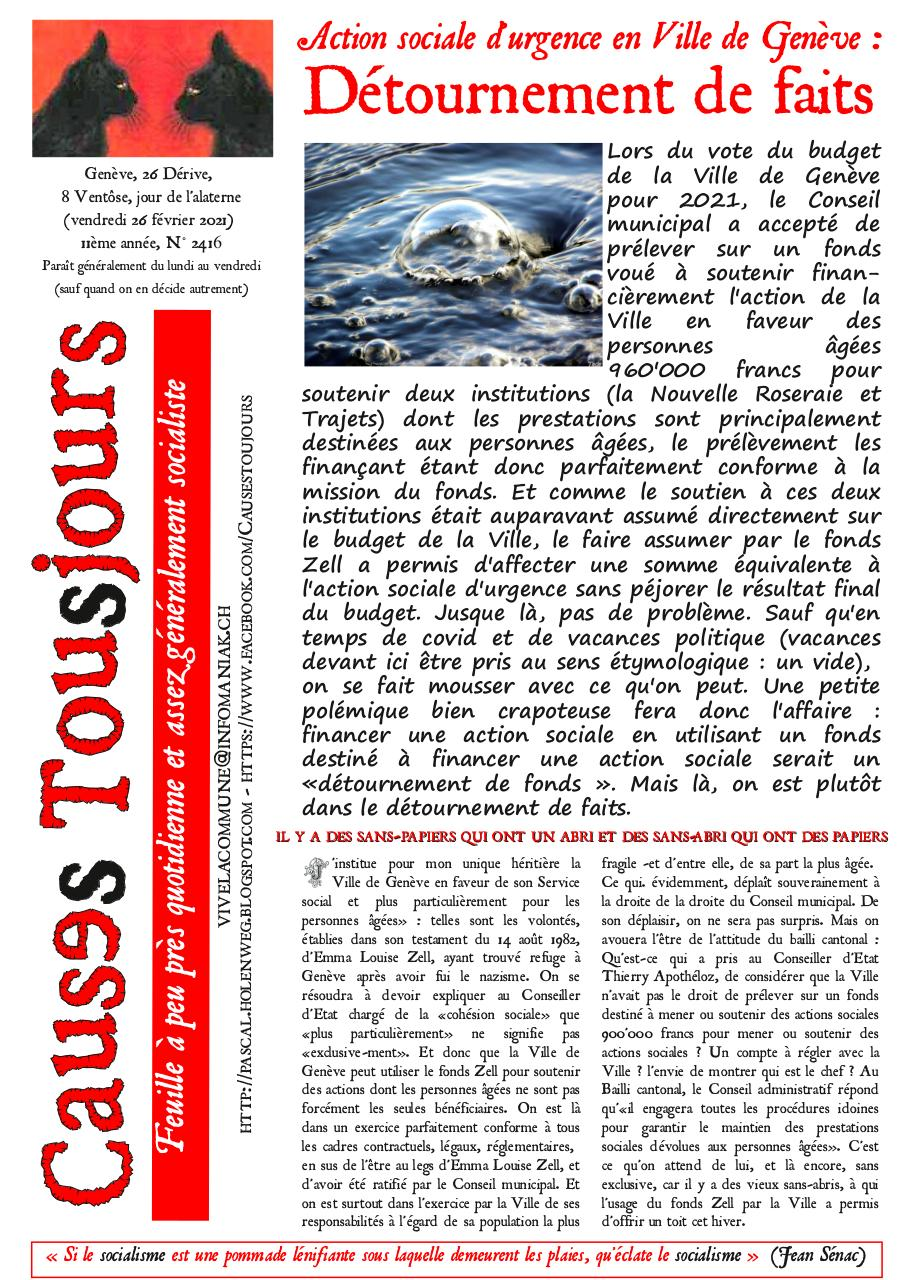 Aperçu du document Newsletter2416.pdf - page 1/2