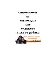 chronologie et historique casernes