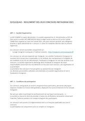 concours reglements 1