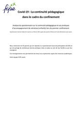 analysequestionnairepostconfinement