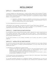 reglement jeux concours 120321au180321