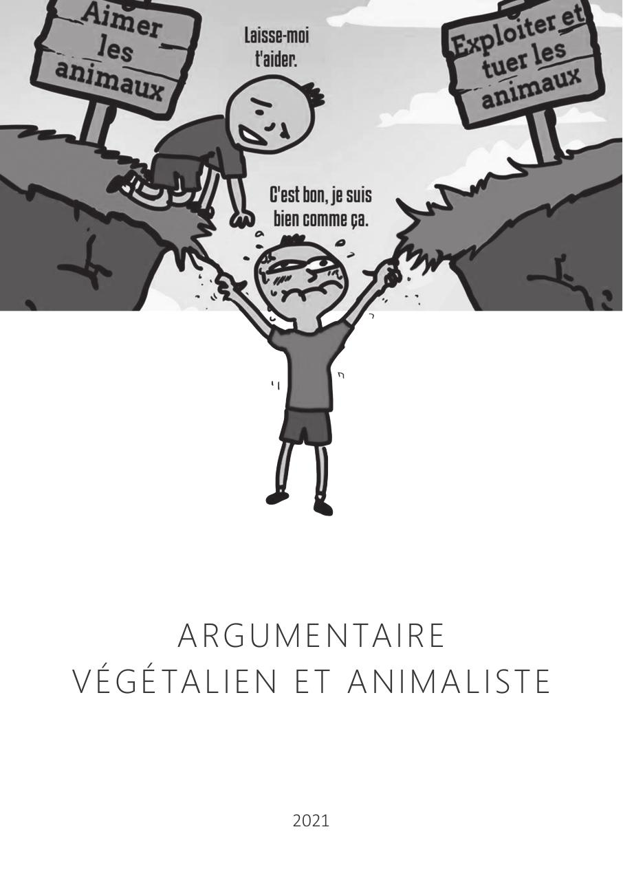 Aperçu du document argumentaire animalisme 2021.pdf - page 1/7