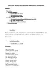 document complementaire christian garcin