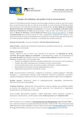 recrutmediationpublicsmuseepatmende2021