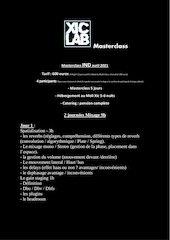 masterclass ind 2021 xiclab