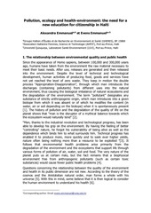 pollution ecology and health environment