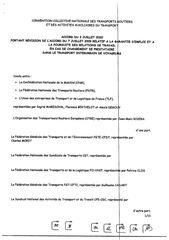 accord transfert du  03 07 2020relatif a la garantie demploi en