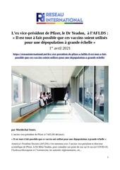 2021 04 01   lex vice president de pfizer le dr yeadon  a laflds